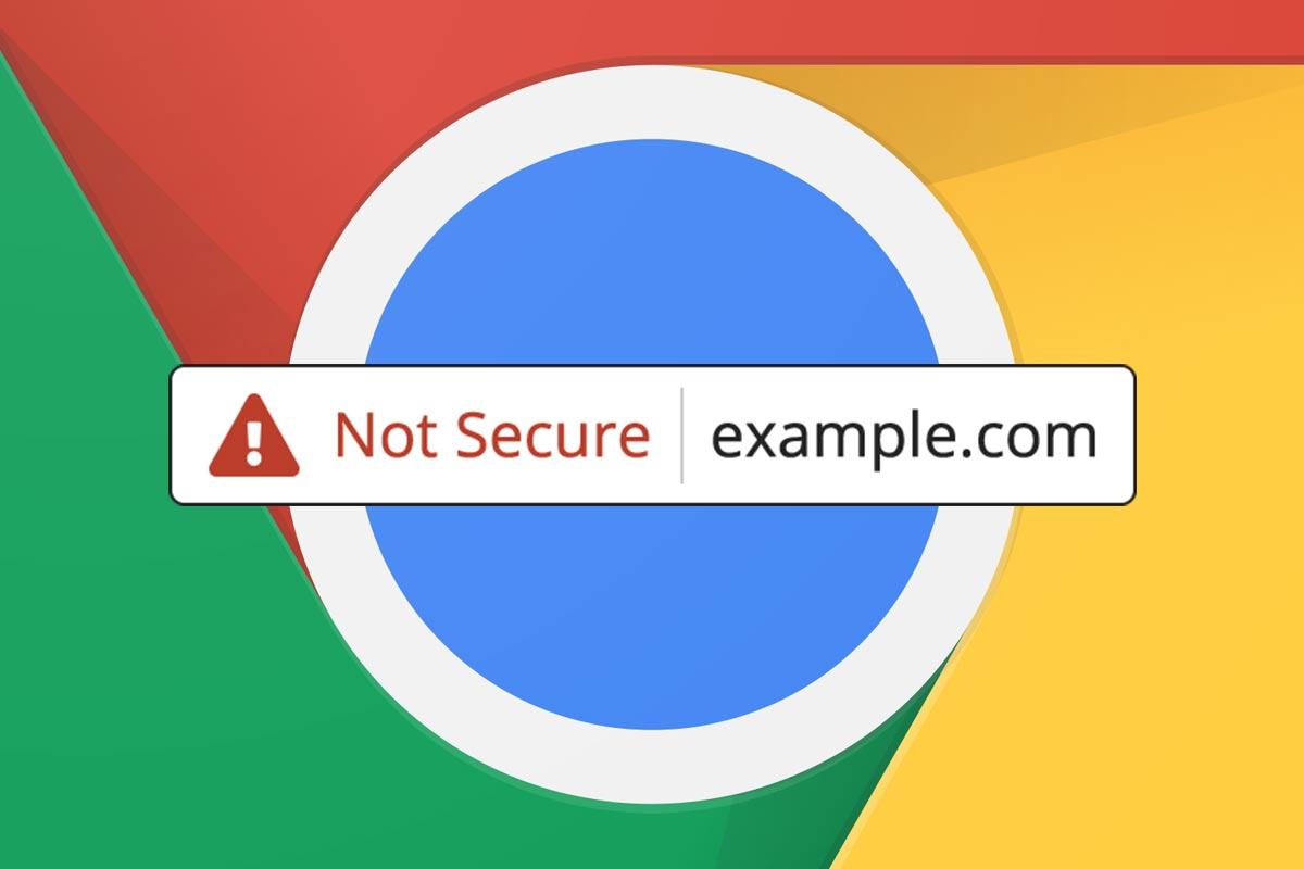 Google Chrome Now Labels All Non Ssl Sites As Not Secure Joshua Pushtomake Switch Electronic Symbol Johnson Design